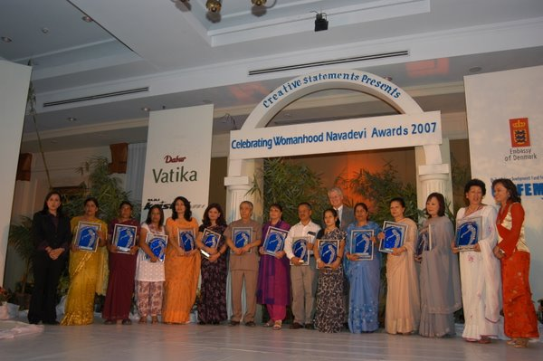 All the nominees of Celebraitng Womanhood 2007